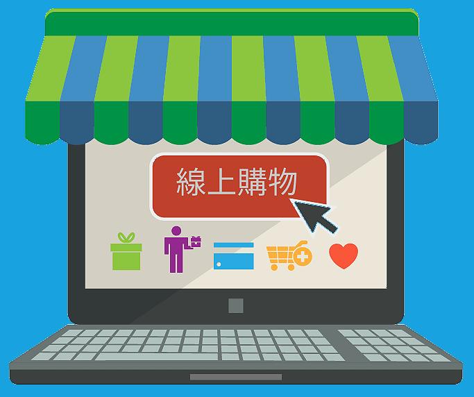 網路開店,購物車系統